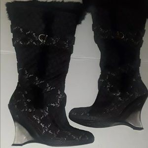 Baby Phat Limoux Shaft Footwear Boots Fall '07